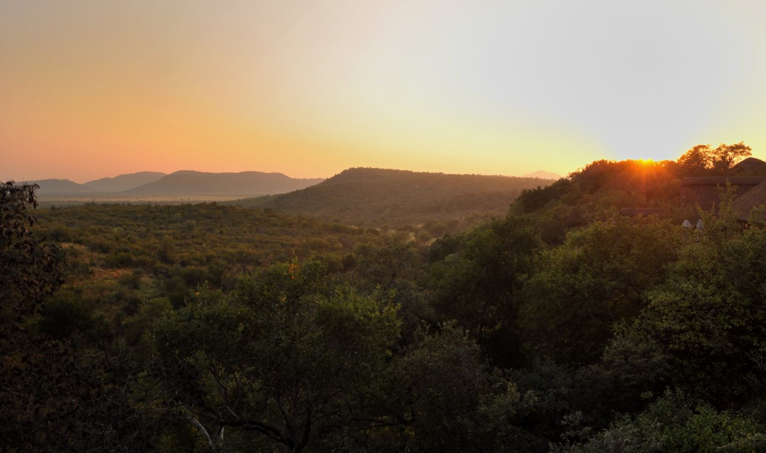 View over the Madikwe Game Reserve at Buffalo Ridge